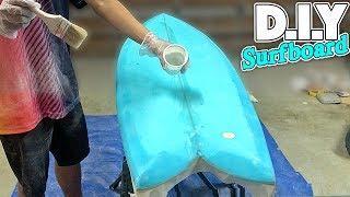 D.I.Y FISH SURFBOARD