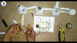 House Wiring of a Electrical Board   Home Wiring   YK Electrical