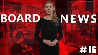 BOARD NEWS #16 - Gry planszowe, wiadomości i nowości.