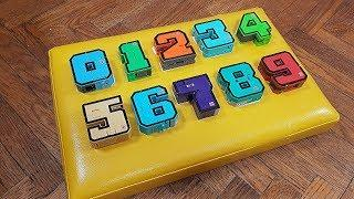 Learn Numbers with a wooden board Video for kids Учим цифры от 1 до 10 Видео для детей