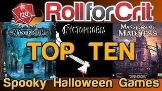 Top 10 Spooky Board Games for Halloween