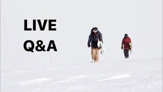 Live Colorado Snowboard Q&A with TJ and Kevin