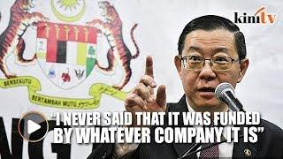 Guan Eng: I said the trip was funded by Totalisator Board