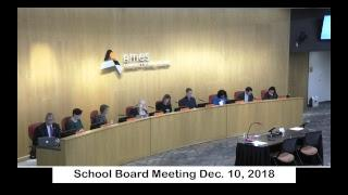 School Board Meeting Dec. 10 , 2018 : Ames Community School District Live Stream