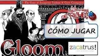 Gloom - 2ª edición: Cómo jugar