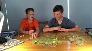 This is the reason I HATE board games! Carcassonne gameplay