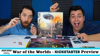 War of the Worlds: The New Wave - Kickstarter Preview (Board Game)