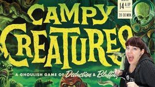 Campy Creatures - Full Board Game Session