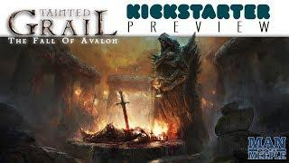 Tainted Grail: The Fall of Avalon Preview by Man Vs Meeple (Awaken Realms)