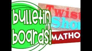 Bulletin Board Prep & GIVEAWAY | From 4th to 3rd Summer Vlog