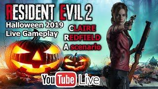 Resident Evil 2 - Claire Redfield / A scenario | Halloween 2019 // Noć vještica 2019 | Live gameplay