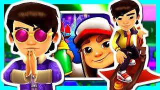 SUBWAY SURFERS: HONG KONG - BRANDON AND WAYFARER BOARD!