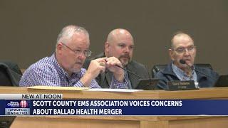 Scott County EMS voice concerns to county board about pending Ballad Health trauma changes
