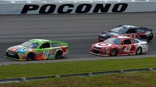 NASCAR Cup Series Pocono 400, Stage 1 (On Board) 6/3/18