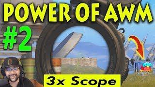#2 POWER OF AWM 3x Scope Pubg Mobile