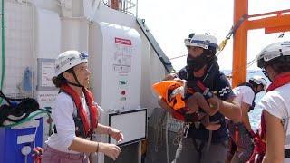 Aquarius rescue ship stranded at sea with 141 migrants on board