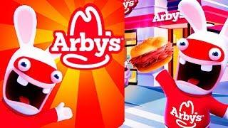 Rabbids Arby's Rush (game by Ubisoft) Android Gameplay Trailer