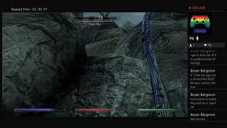 WeRYoutube plays skyrim cause He's board Live