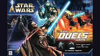 Ep. 189: Star Wars Epic Duels Board Game Review (Milton Bradley 2002)