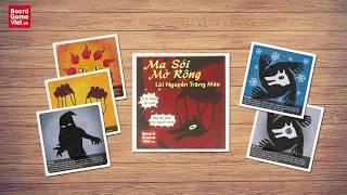 Board Game Việt - Hướng dẫn cách chơi Ma Sói Mở Rộng: Lời Nguyền Trăng Máu