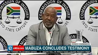 Eskom board chairperson Jabu Mabuza has concluded his testimony at the Zondo commission