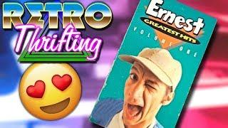Retro Thrifting #4 | VHS Retro Tech 80s Board Games Video Games
