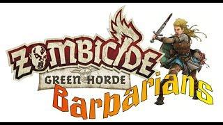 Zombicide Horde Ep 1 Barbarians