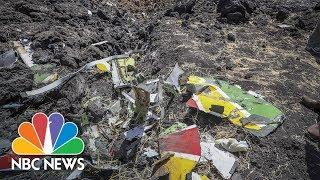 Scenes From The Crash Site Of Ethiopian Airlines Plane | NBC News