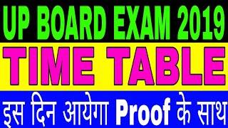 UP board exam 2019,यूपी बोर्ड परीक्षा 2019,UP Board exam time table 2019, time table latest news