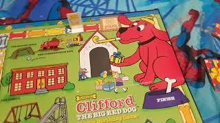Clifford the big red dog happy birthday board game