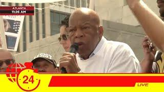John Lewis just delivered impassioned speech at 'Keep Families Together' march [WATCH]