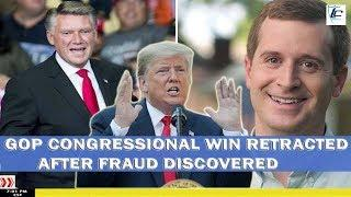 Breaking News out of North Carolina! GOP Congressional win retracted after fraud discovered