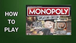 How To Play Monopoly: The Cheaters Edition Board Game