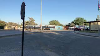 Border Crossing, What It Looks Like To Leave Namibia (Border Crossing Into Botswana)