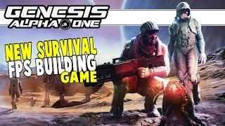 NEW Space Survival, FPS, Base Building Game | Genesis Alpha One | Part 1