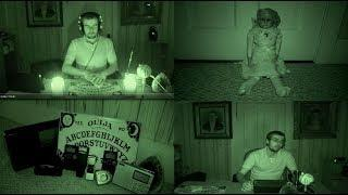 Live Paranormal Spirit Box, Ouija Board, and EVP Experiments in My Bedroom Caught on Tape