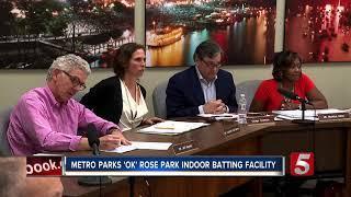 Metro Parks Board Approves Rose Park Batting Facility
