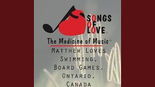 Matthew Loves Swimming, Board Games, Ontario, Canada
