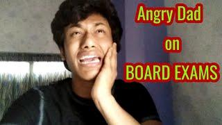 Angry Dad aur Board Exams || Aryff || Funny video ||
