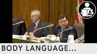 Body Language: Gasslighting Government Board Meeting mirrors The Federal Govt