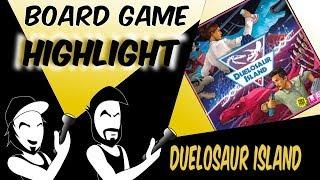 Duelosaur Island! (Board Game Highlight)