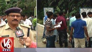 All Set For S.I Preliminary Examination | Telangana Police Recruitment Board | V6 News
