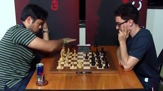 VERY SOLID POSITION!! Hikaru Nakamura Vs Fabiano Caruana || Blitz chess 2018