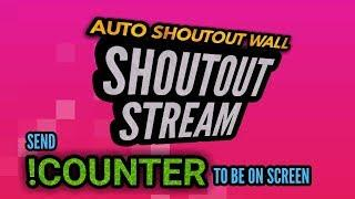 Shoutout Stream 24/7 live | Auto shoutout wall | No sub4sub | promote channel free | grow channel 3