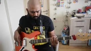 Madonna - Borderline(synth bass cover)