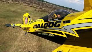 "Pilot rc 1.85m 73"" Pitts Challenger on board video"