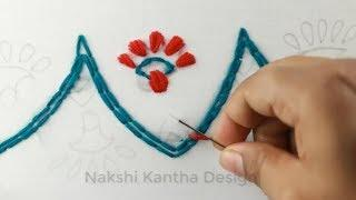 Eid Special Hand Embroidery Border Line Design for Dresses, Embroidered Dress Design