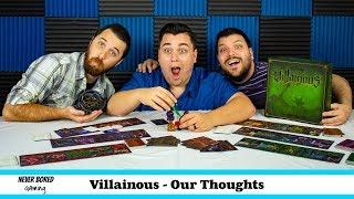 Villainous - Our Thoughts (Board Game)