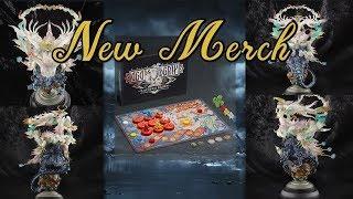 FFXIV: Ultima Statue & Cactpot Board Game! - New Merch