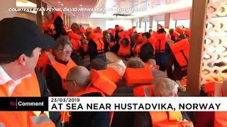 More video emerges of chaos on board Norway ship